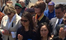 Irvine Community Services Commissioner Melissa Fox with Vietnamese community on Black April (Tháng Tư Đen)