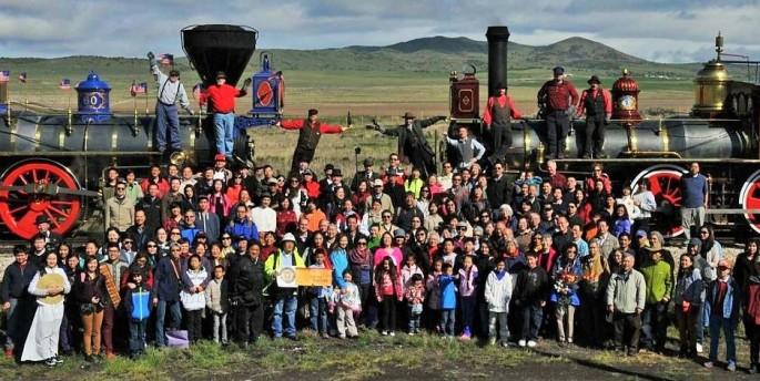 Chinese-Americans at Golden-Spike, melissafoxblog.com, Melissa Fox, melissajoifox, Irvine Commissioner Melissa Fox
