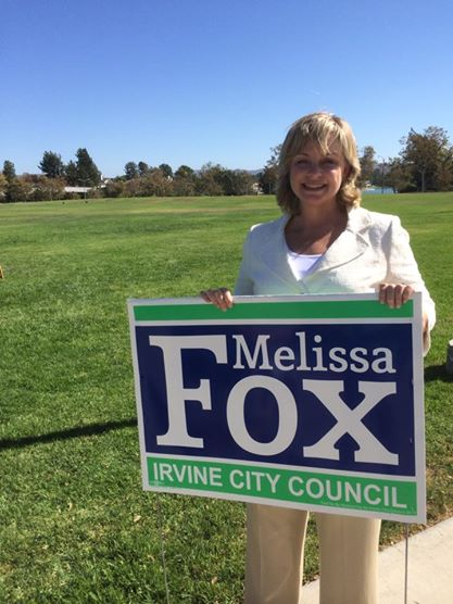 Melissa Fox for Irvine City Council, Melissa Fox, melissajoifox, votemelissafox.com, Melissa Fox Irvine