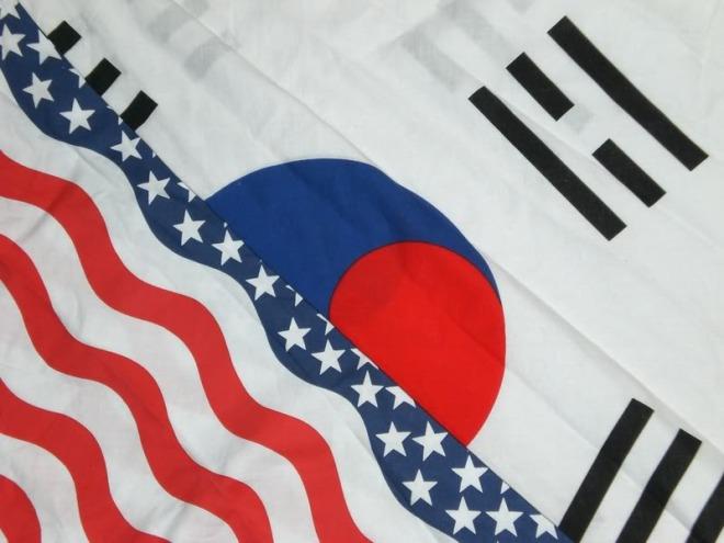 korea-us-flag