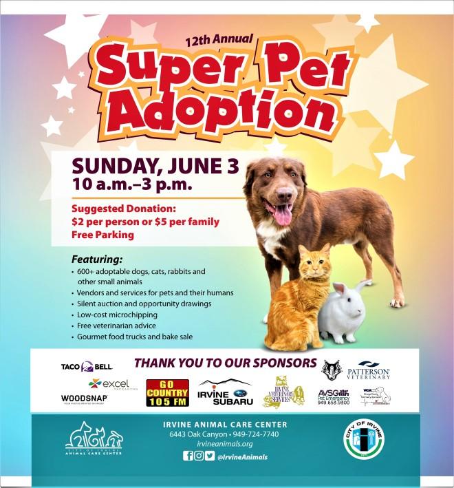 Irvine Annual Super Pet Adoption Melissa Fox For California